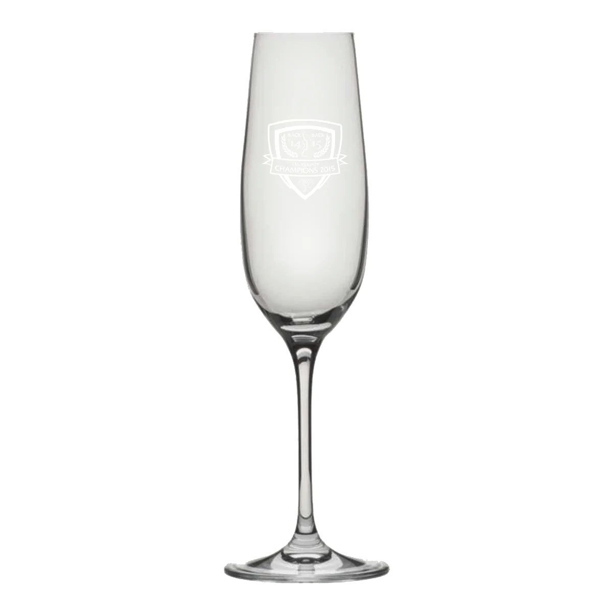Club Cricket Champions 2015 Champagne Flute – Yorkshire County Cricket Club