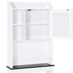Small Crop Of White Storage Cabinet