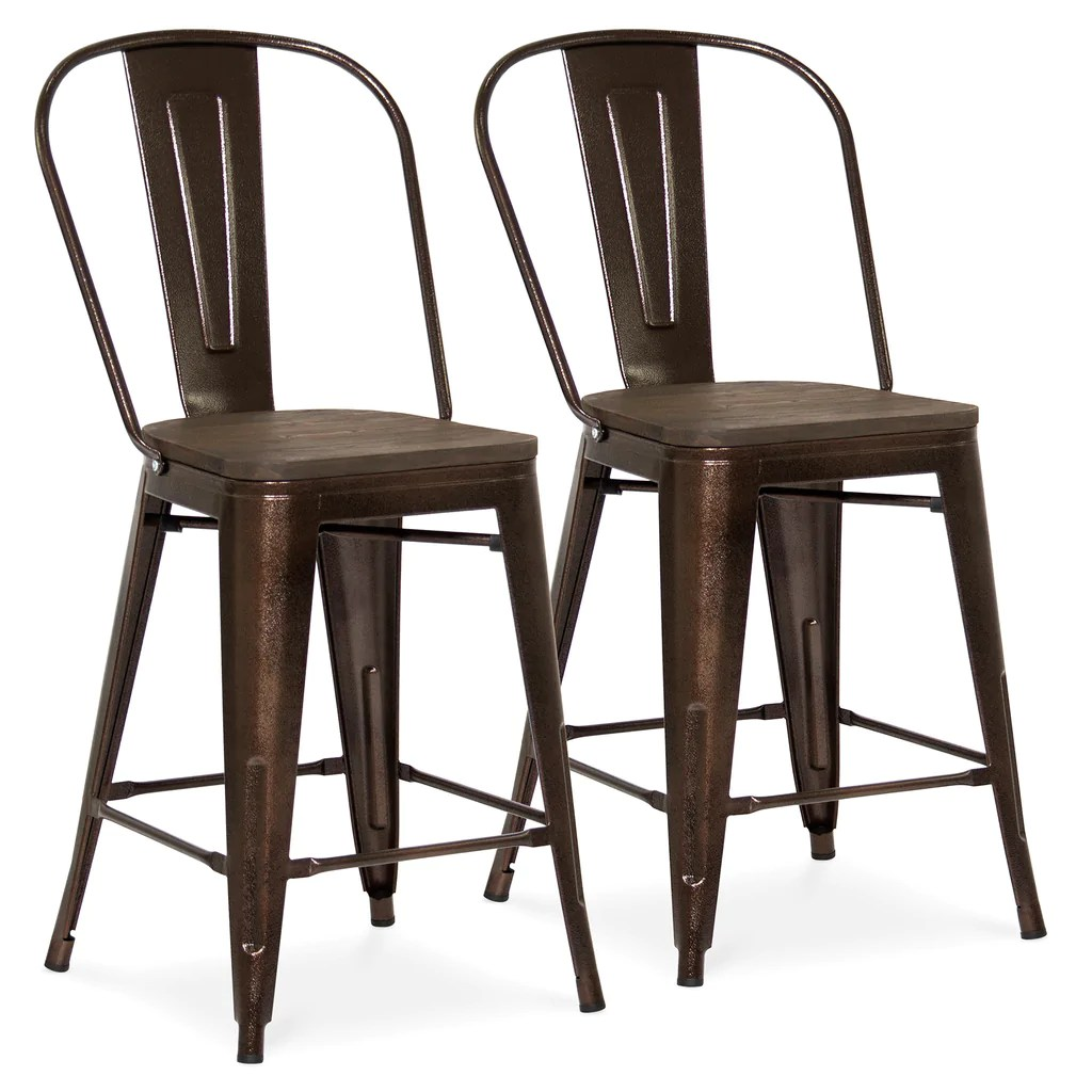 Industrial Counter Height Bar Stools Set Of 2 Industrial Counter Height Stools Best Choice