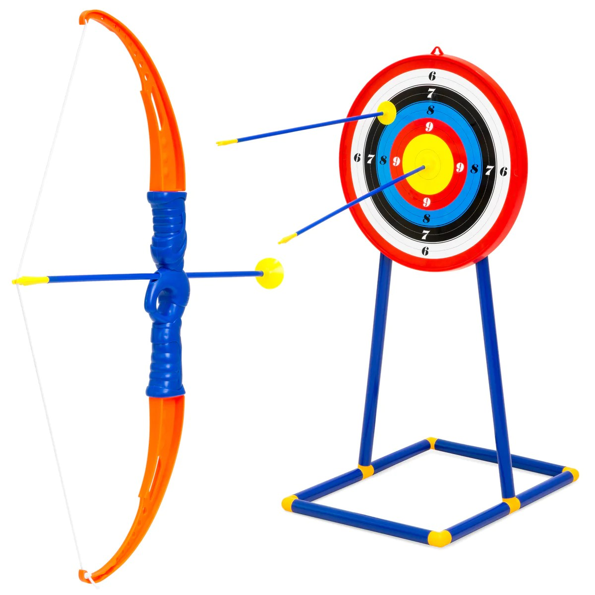 Toy Guitar Target Kids Archery Bow And Arrow Toy Play Set W 3 Suction Cup Arrows Target Multicolor