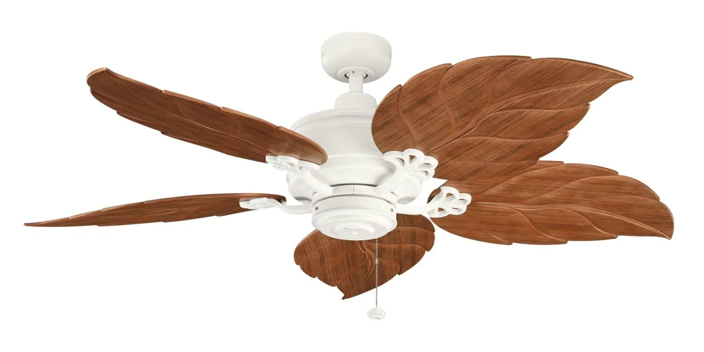 Ceiling Fans With Good Lighting Kichler Lighting 320102snw 370022 Crystal Bay Collection 52