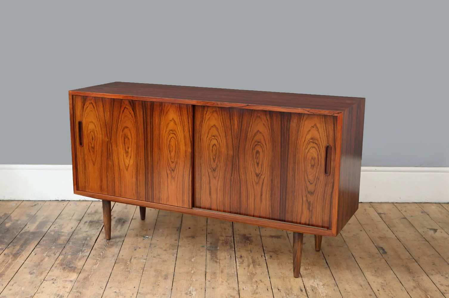 Vintage Rosewood Sideboard Rosewood Sideboard By Hundevad Forest London