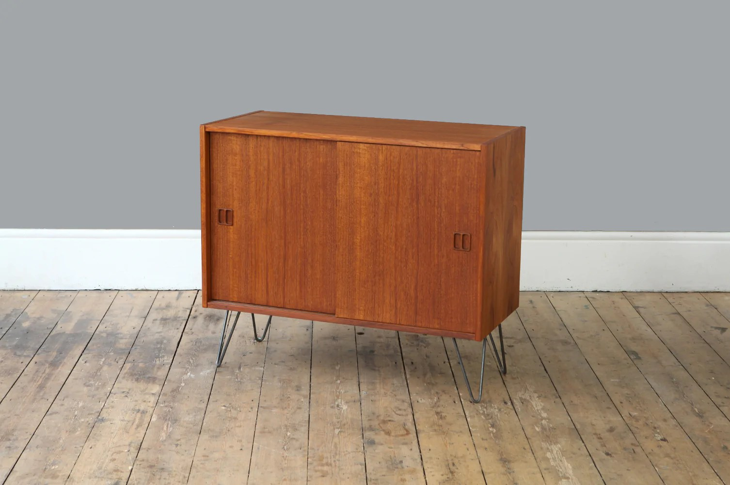 Vintage Sideboard Hairpin Legs Danish Teak Sideboard With Hairpin Legs Forest London