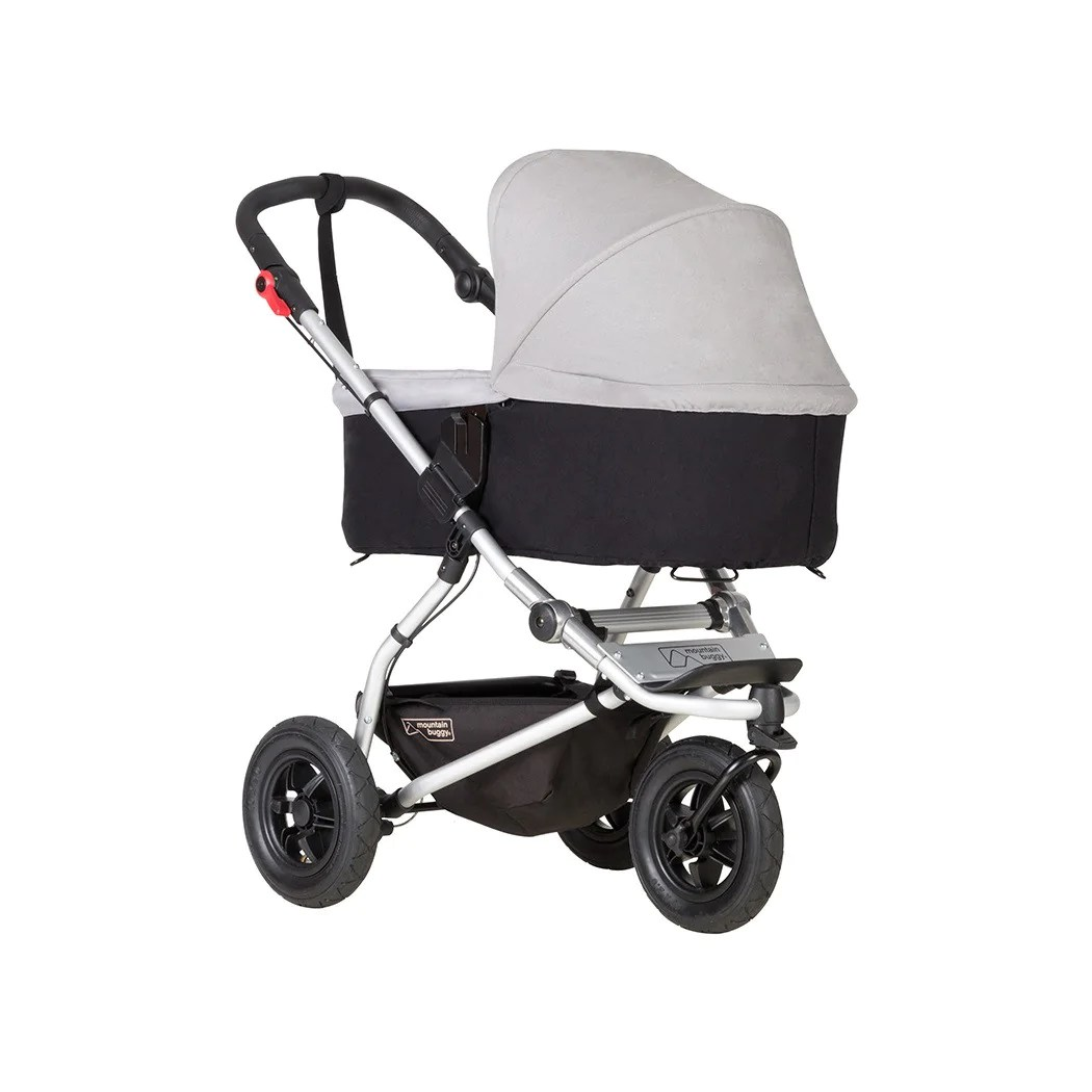 Baby Plus Buggy Black Mountain Buggy Carrycot Plus With 3 Seat Modes For