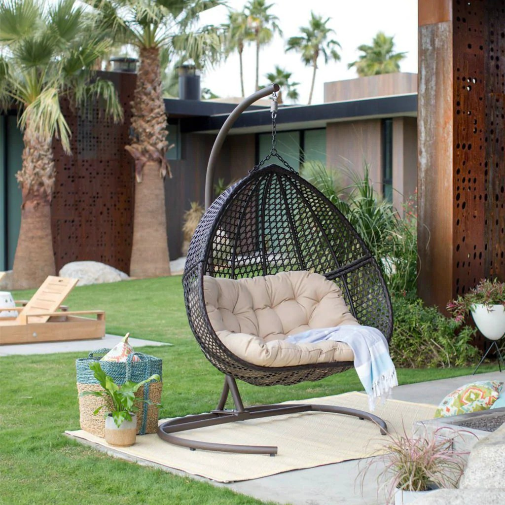 Hanging Outdoor Chairs 7 Luxury Hanging Egg Chairs You Ll Want To Lounge In Forever