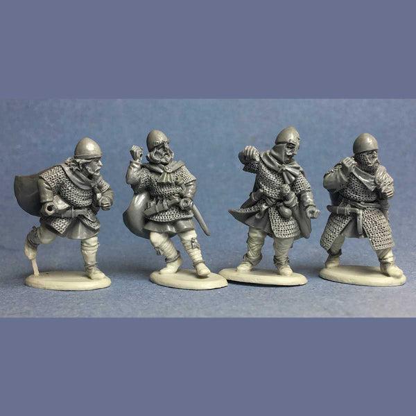 saxon spearmen