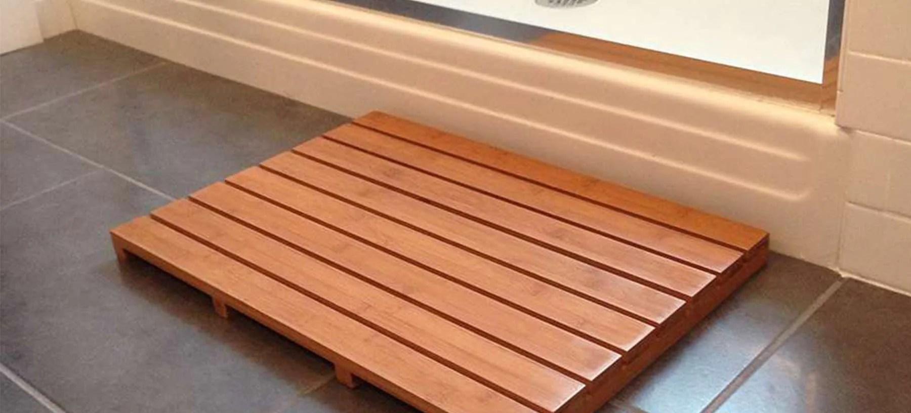 Fullsize Of Bamboo Bath Mat