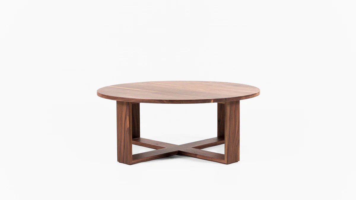 Solid Timber Coffee Table Kiss Cuddle Coffee Table
