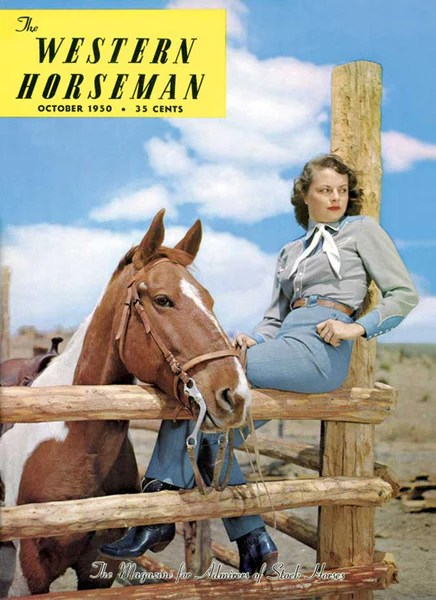 Www Check 24 October 1950 Cover Poster – Western Horseman