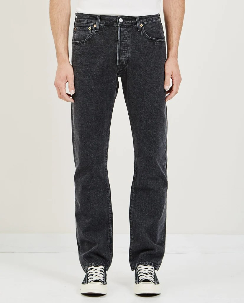 Levi Jeans 501 Levi S Made Crafted 501 Original Jeans Black Stonewash American Rag Cie