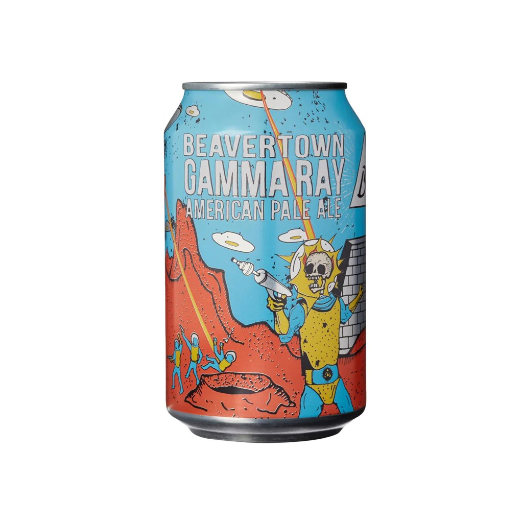 Caustic Soda Gamma Beavertown Gamma Ray American Pale Ale Can