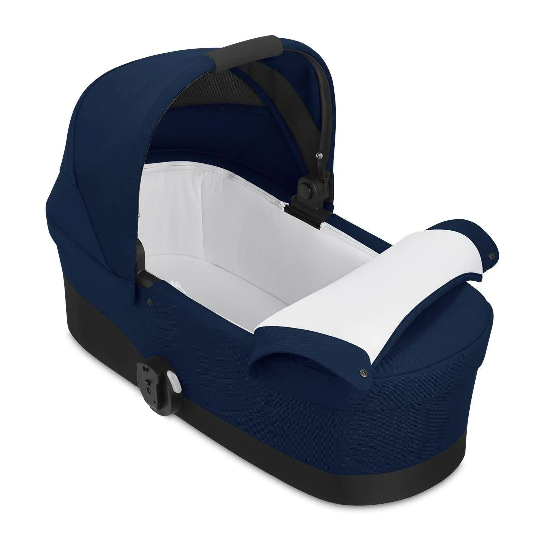 Cybex Cot S 2020 Navy Blue Natural Baby Shower