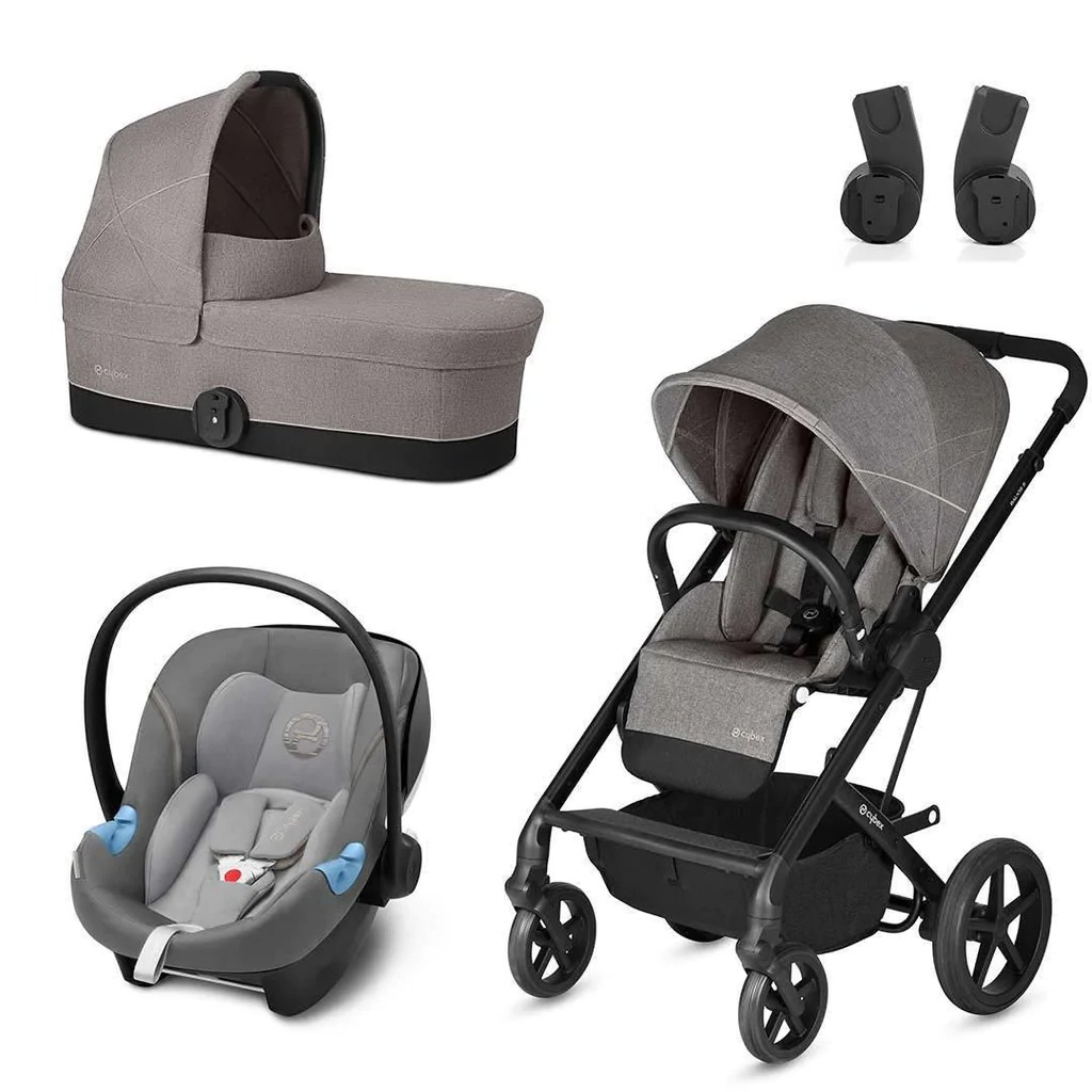Cybex Stroller Support Cybex Balios S Travel System Manhattan Grey