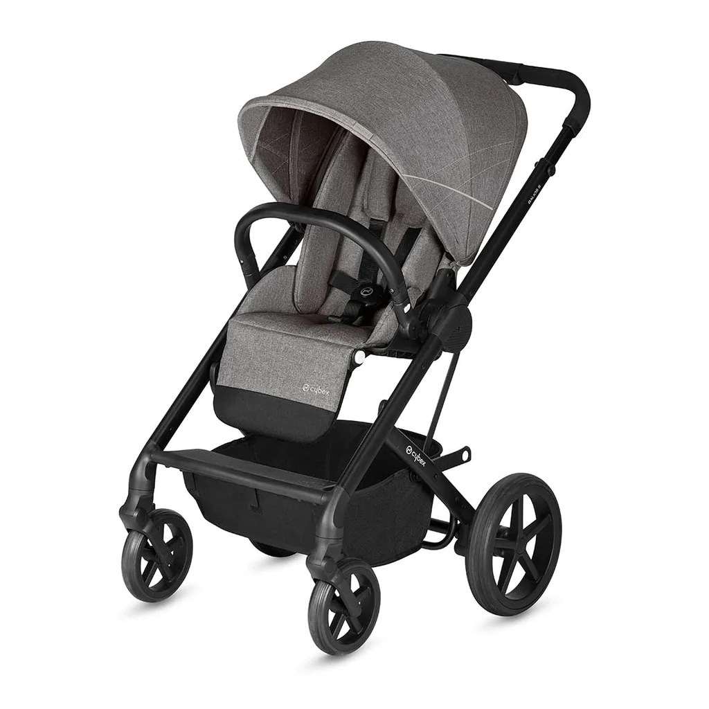 Cybex Stroller Support Cybex Balios S Pushchair Manhattan Grey