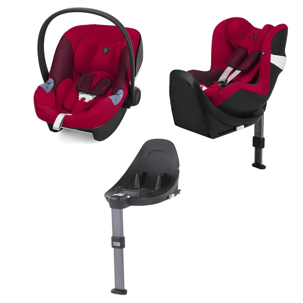 Infant Seat Vs Safety Seat Cybex Modular Car Seat System M Series Scuderia Ferrari Racing Red