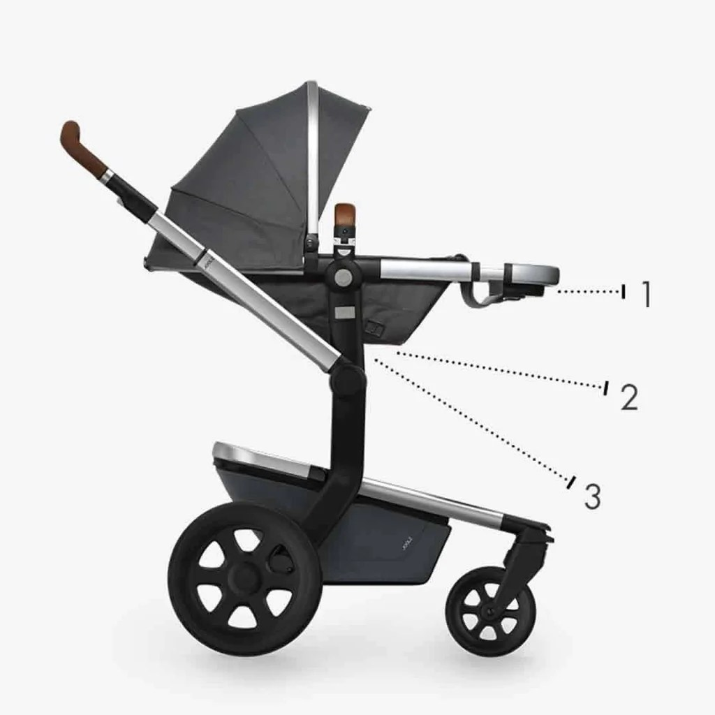 The Joolz Stroller Joolz Day2 Earth Stroller Hippo Grey Ex Display