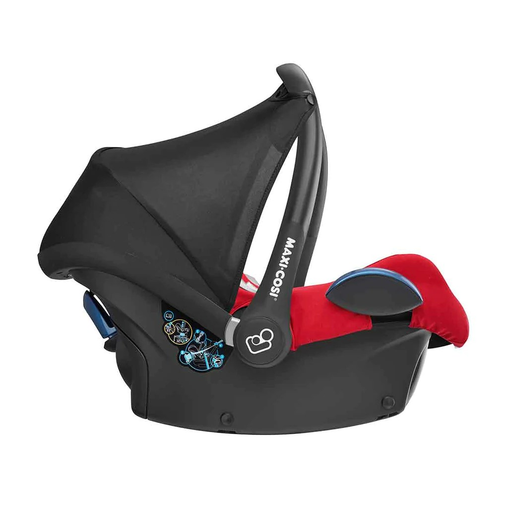 Infant Carrier Car Seat Guide Maxi Cosi Cabriofix Car Seat Nomad Red