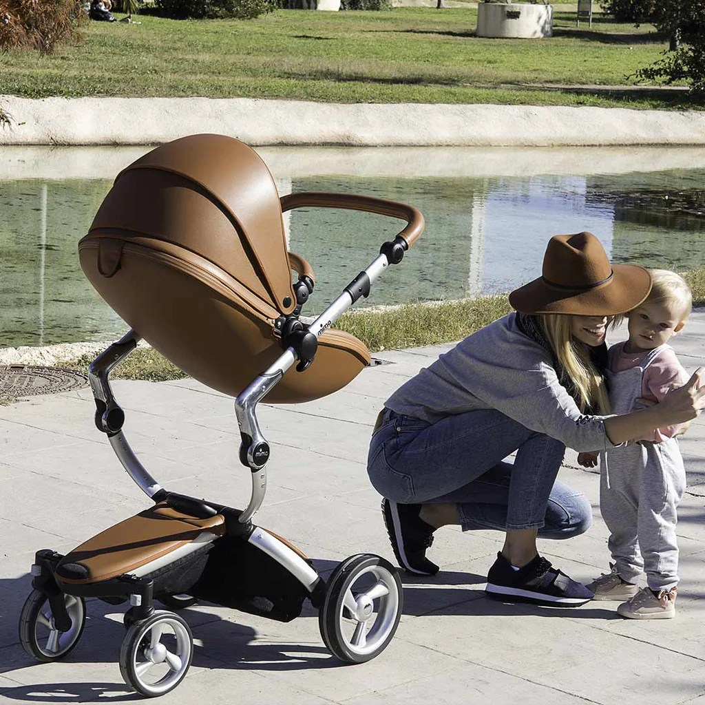 Toddler Stroller South Africa Mima Xari Single Pushchair In Camel Flair With Rose Gold