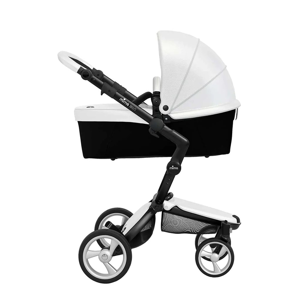 Mima Xari Seat Box 2 Snow-white Mima Xari Single Pushchair Snow White With Black Chassis