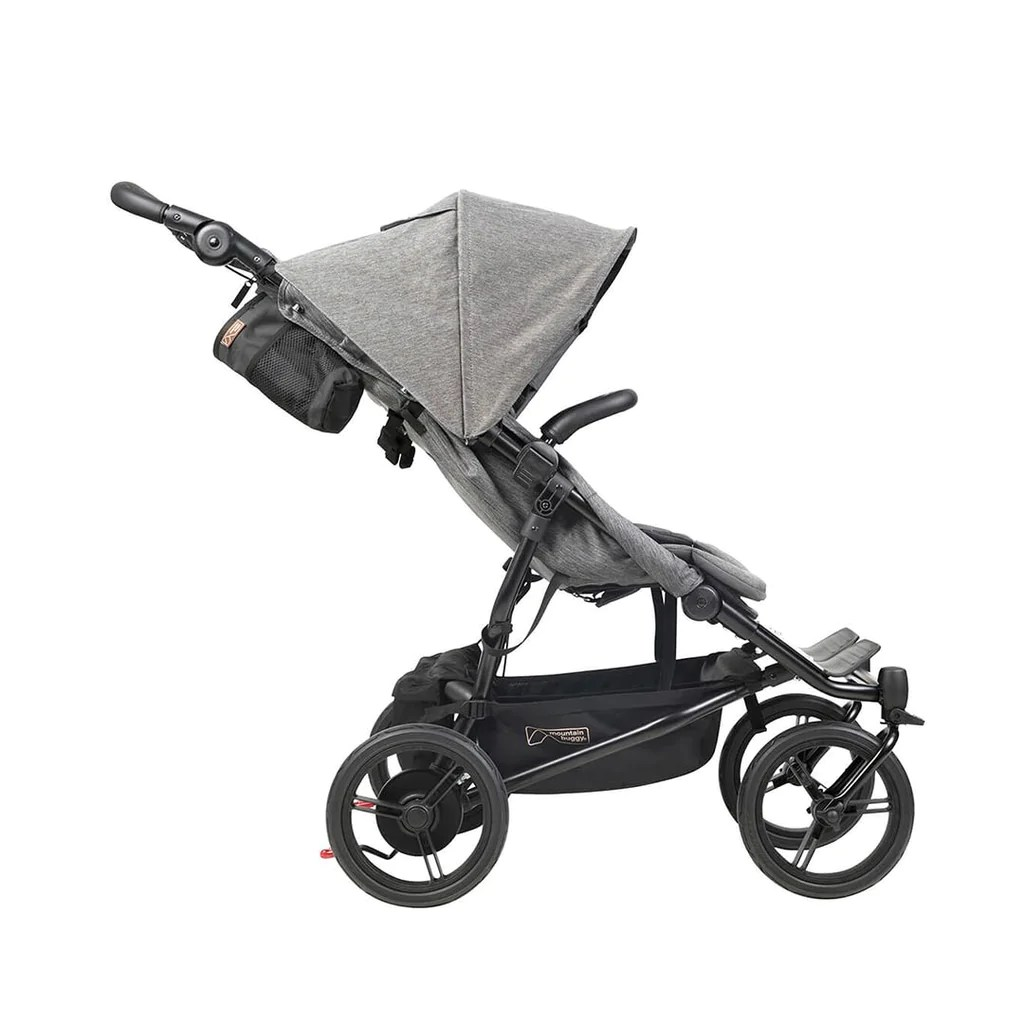 Black Buggy Days 2018 Mountain Buggy Duet V3 Pushchair Herringbone