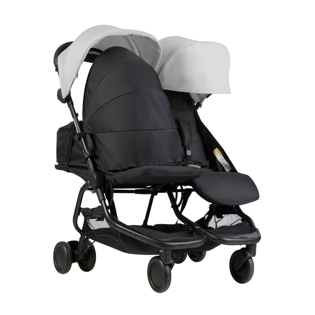 Mountain Buggy Car Seat Installation Mountain Buggy Nano Duo Pushchair Silver