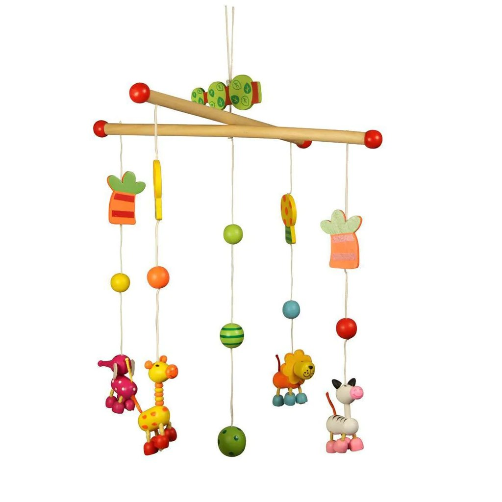 Wooden Baby Mobile Bigjigs Wooden Mobile Jungle Nature Natural Baby Shower