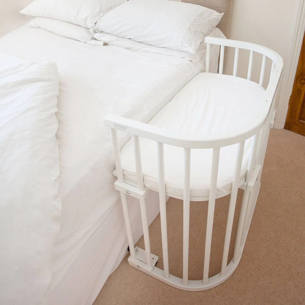 Baby Cots That Attach To Beds Babybay Convertible Bedside Crib White