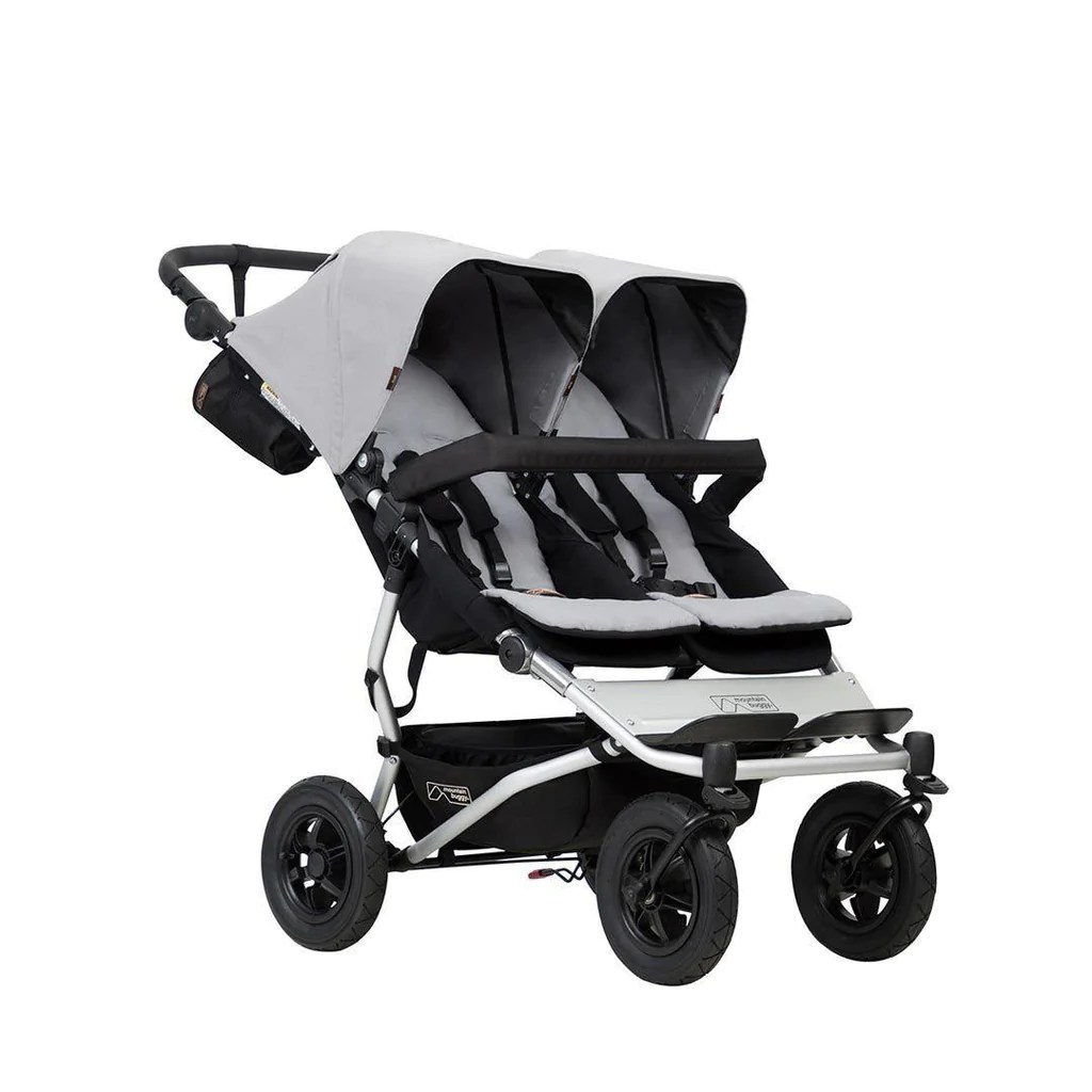 Mountain Buggy Car Seat Installation Mountain Buggy Duet V3 Pushchair Silver