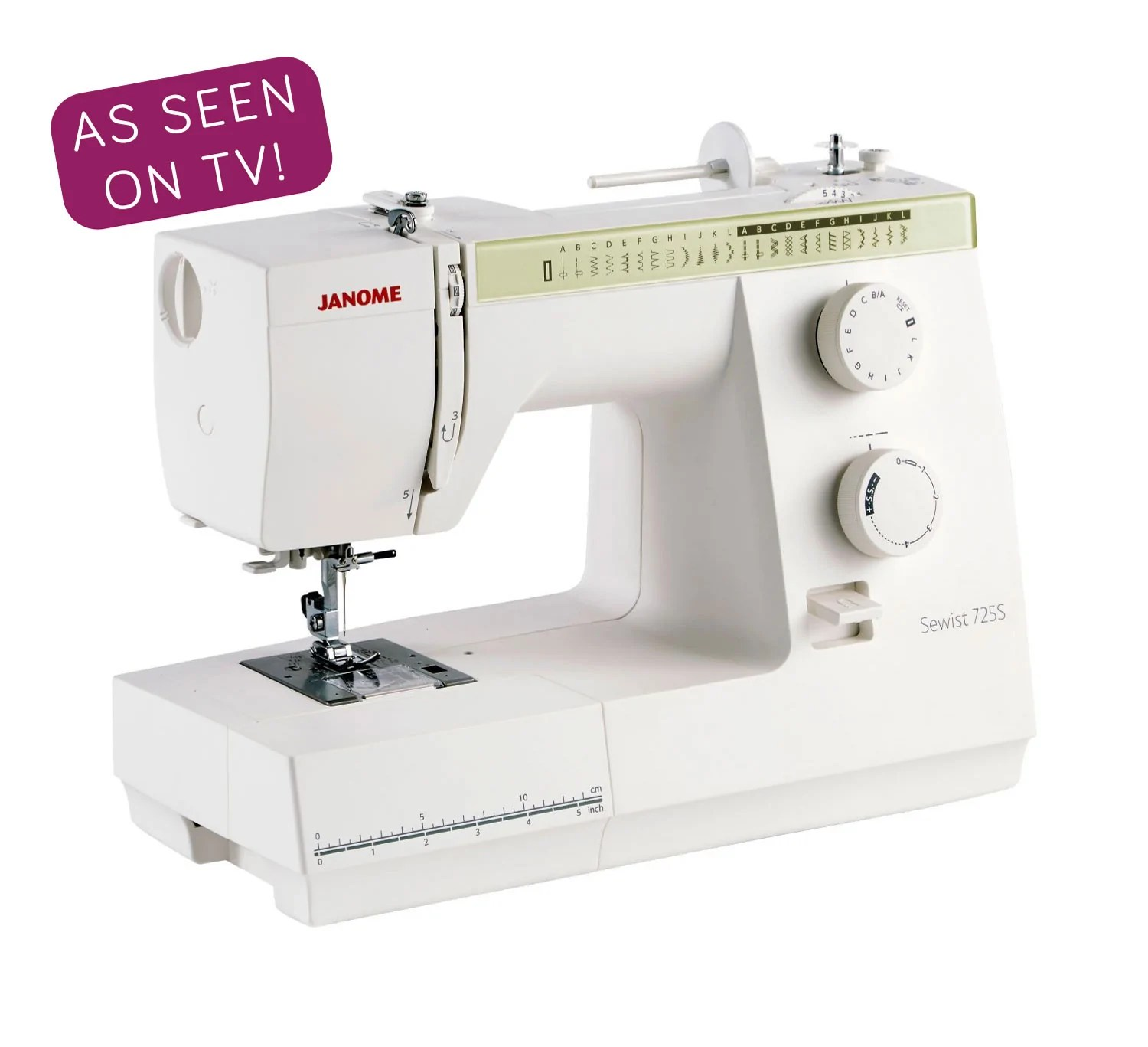 Electromenager Occasion Var Janome 725s Sewing Machine Weaverdee