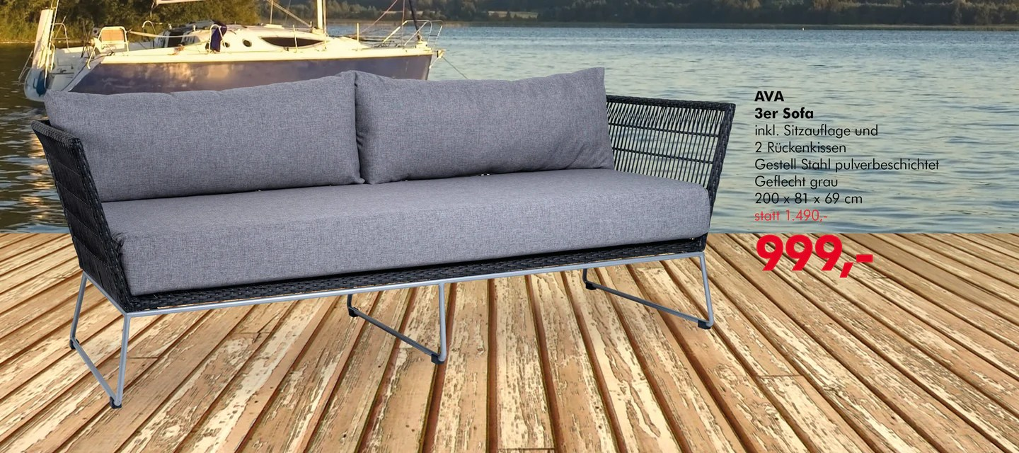 Interio Sofa Aktion Interio Q19