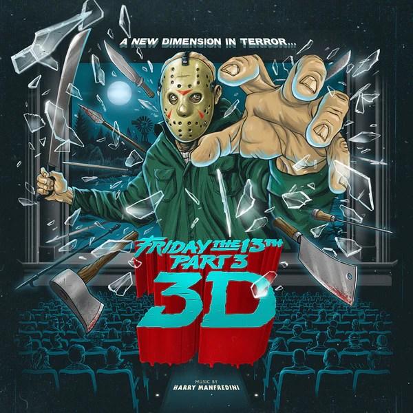 Freddy Krueger Wallpaper 3d Friday The 13th Part 3 Waxwork Records