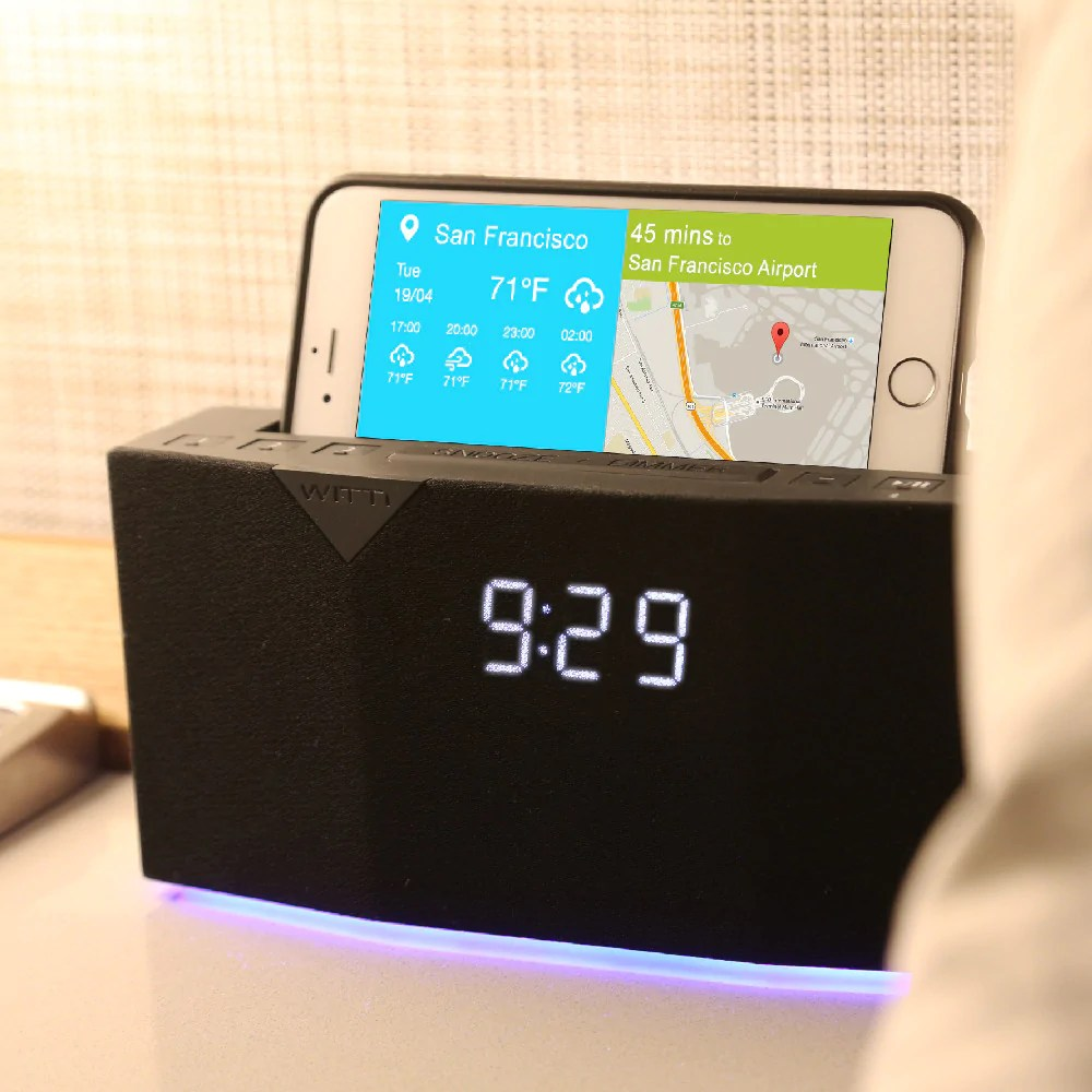 Digital Clock For Sale Beddi Intelligent Alarm Clock With Smart Home Integration For European Countries Only