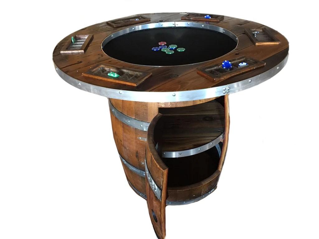 Wine Barrel Poker Table Delta 13