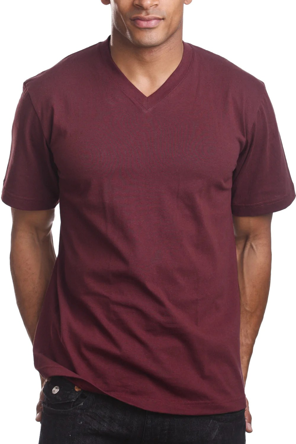 V Neck T Shirt V-neck T-shirt 2xl - 5xl – Pro 5 Apparel