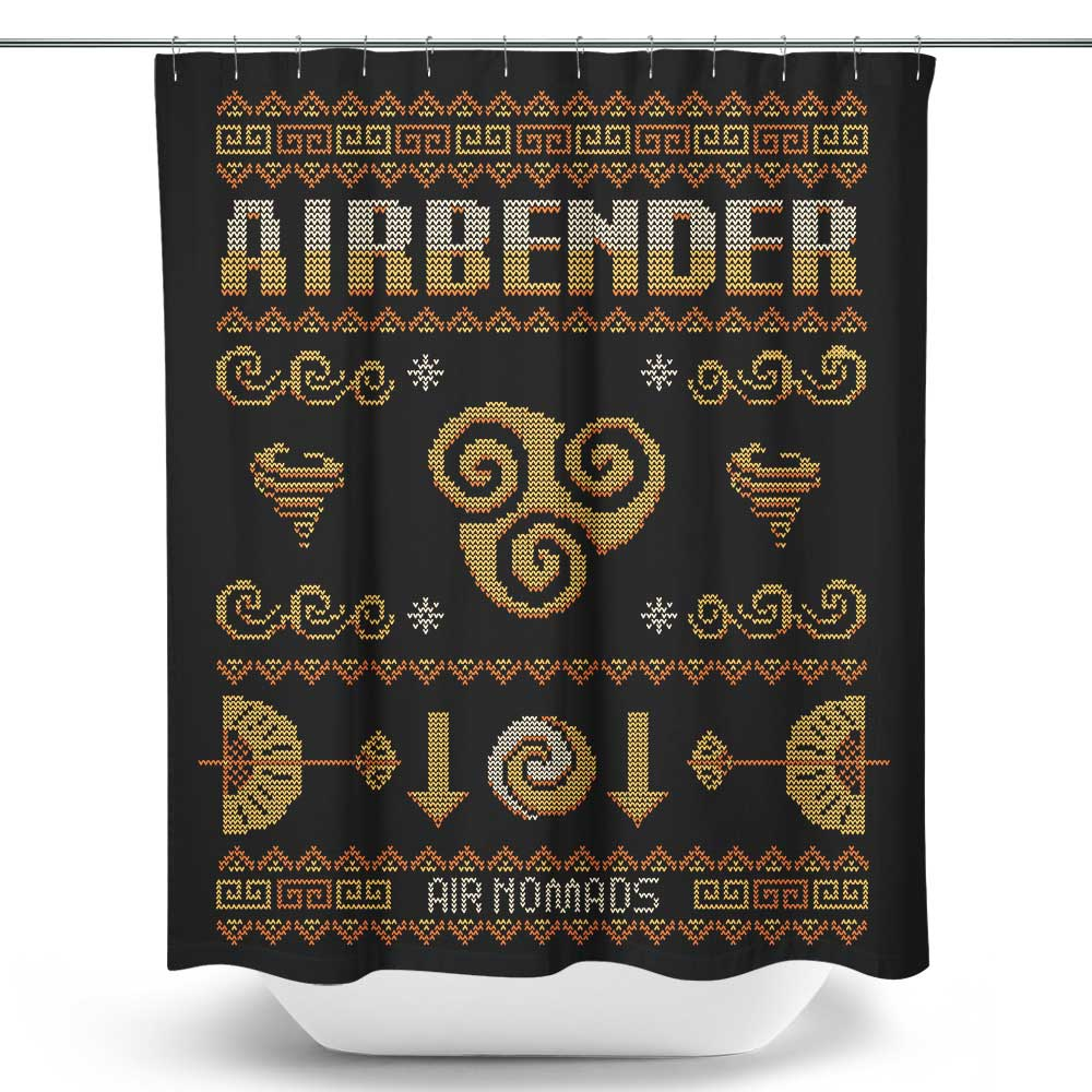 Air Curtain Shower Air Nomad S Sweater Shower Curtain