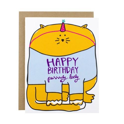 Dark Happy Birthday Lady Happy Birthday Lady Hen Pen Paper Co Happy Birthday Images Happy Birthday Girl