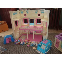 Small Crop Of Fisher Price Dollhouse