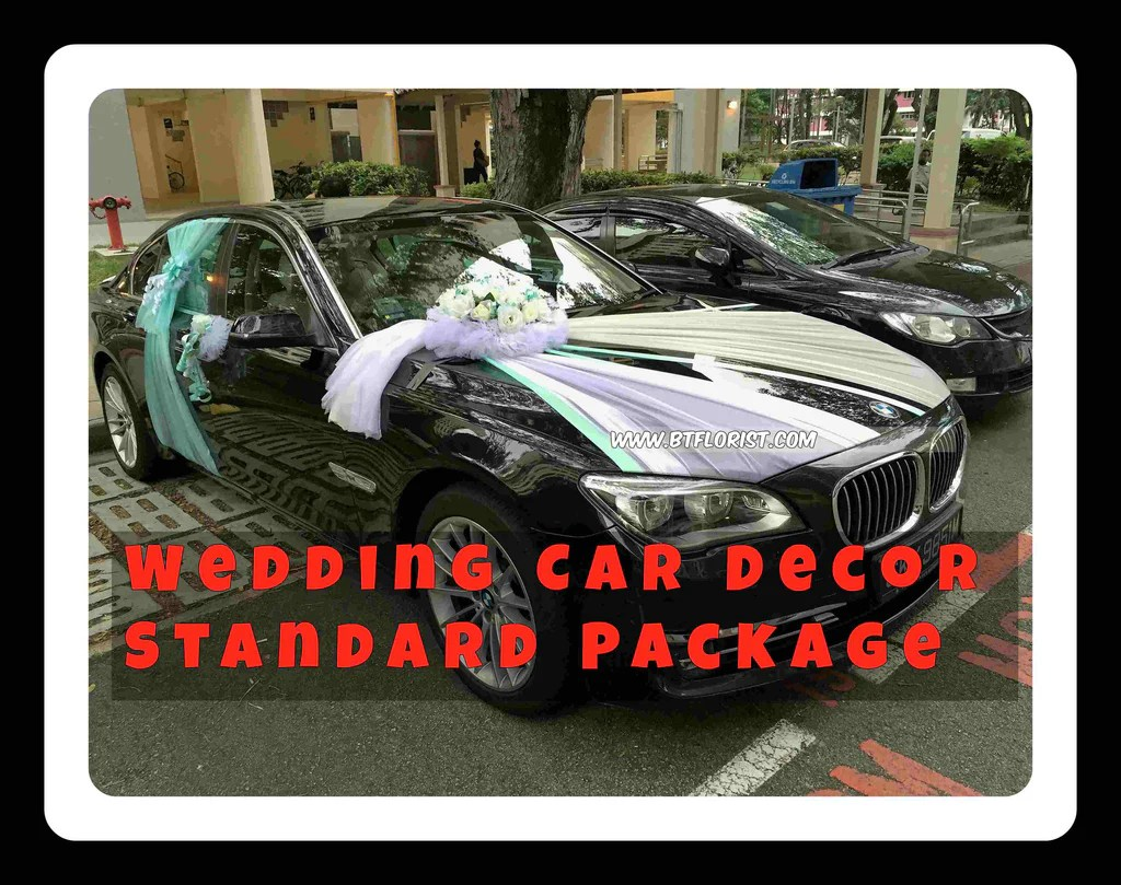 Car Decoration Weding Wedding Car Decoration Standard Package Pac8083