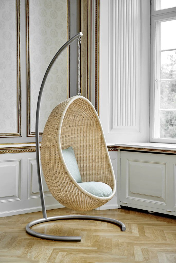 Arne Jacobson Sika Design Stand For Hanging Indoor Egg Chair – Sika