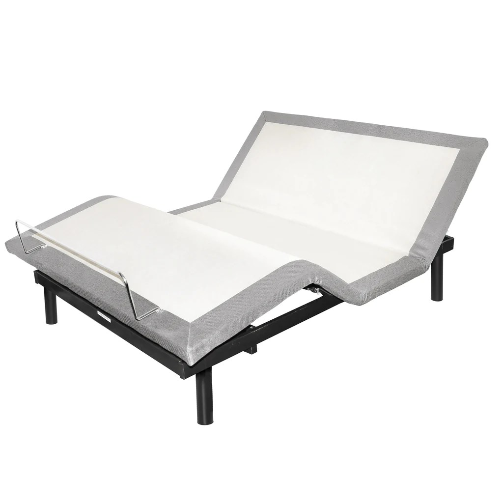 Futon Massage Queen Adjustable Bed With Light And Massage By W Silver Products