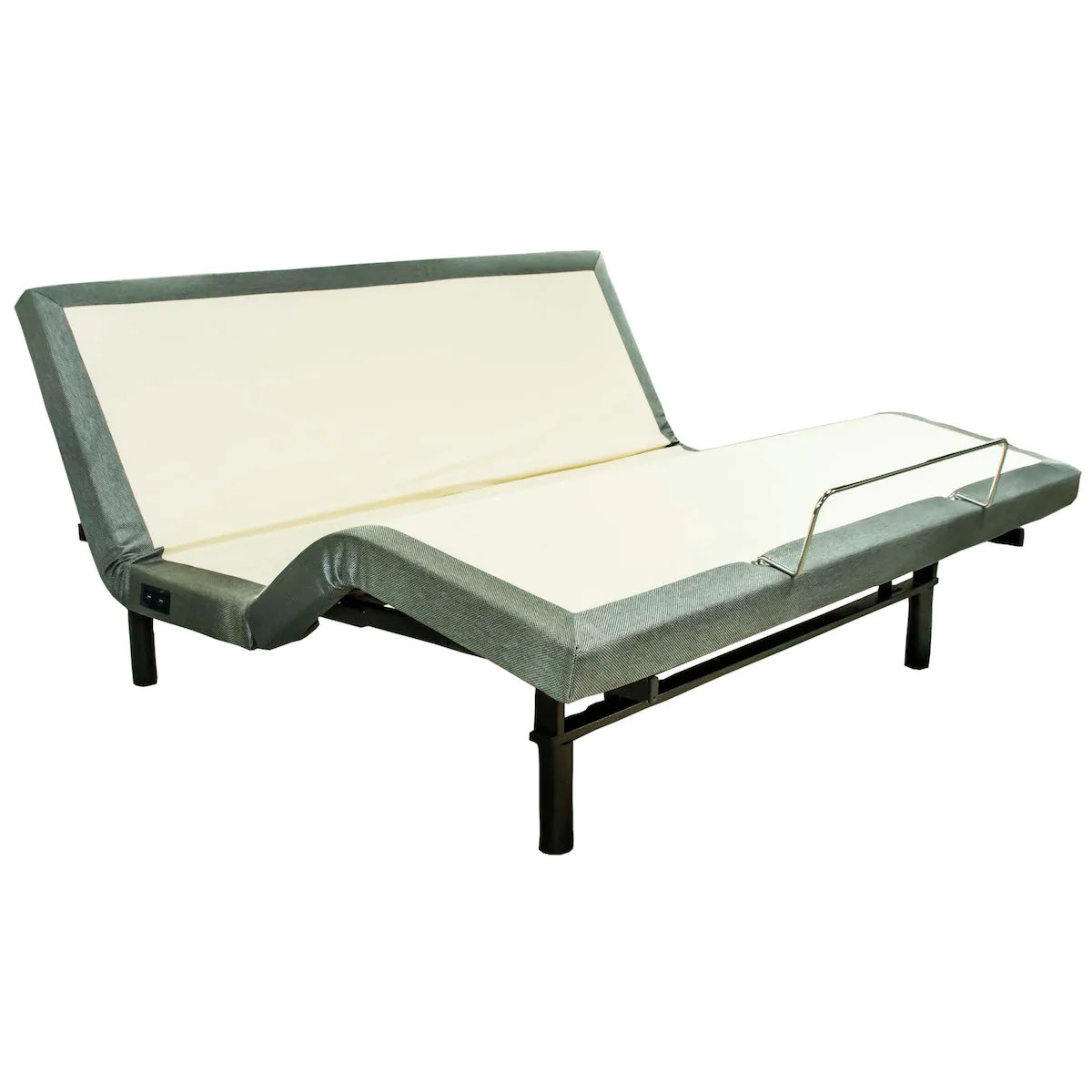 Futon Massage King Adjustable Bed With Light And Massage By W Silver Products