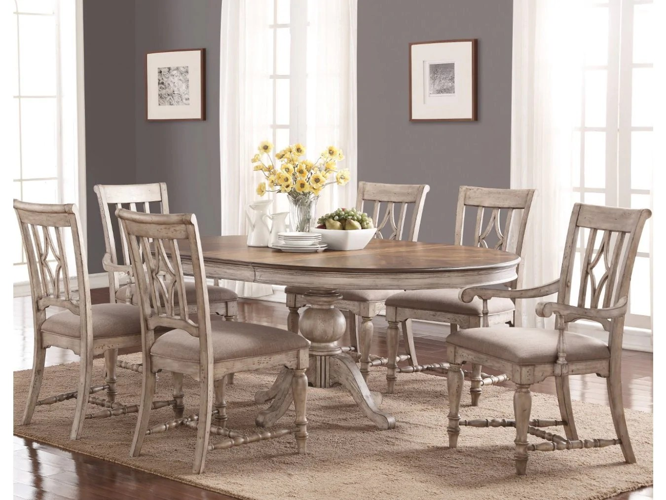 Plymouth Furniture Clearance Plymouth 7 Piece Dinette By Flexsteel Barrow Fine Furniture
