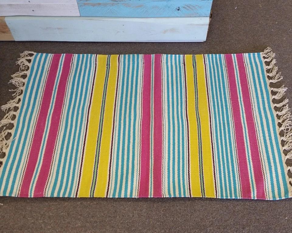 Cupcake Stripe 2x339 Rug Beach House Linens