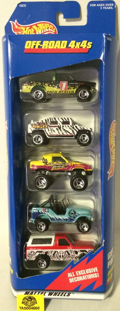 Toy Story Toys Vintage Tas004550 1997 Mattel Hot Wheels Off Road 4x4s Gift