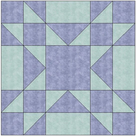 Quilt Blocks Amish Star Traditional Quilt Block Pattern Download – The