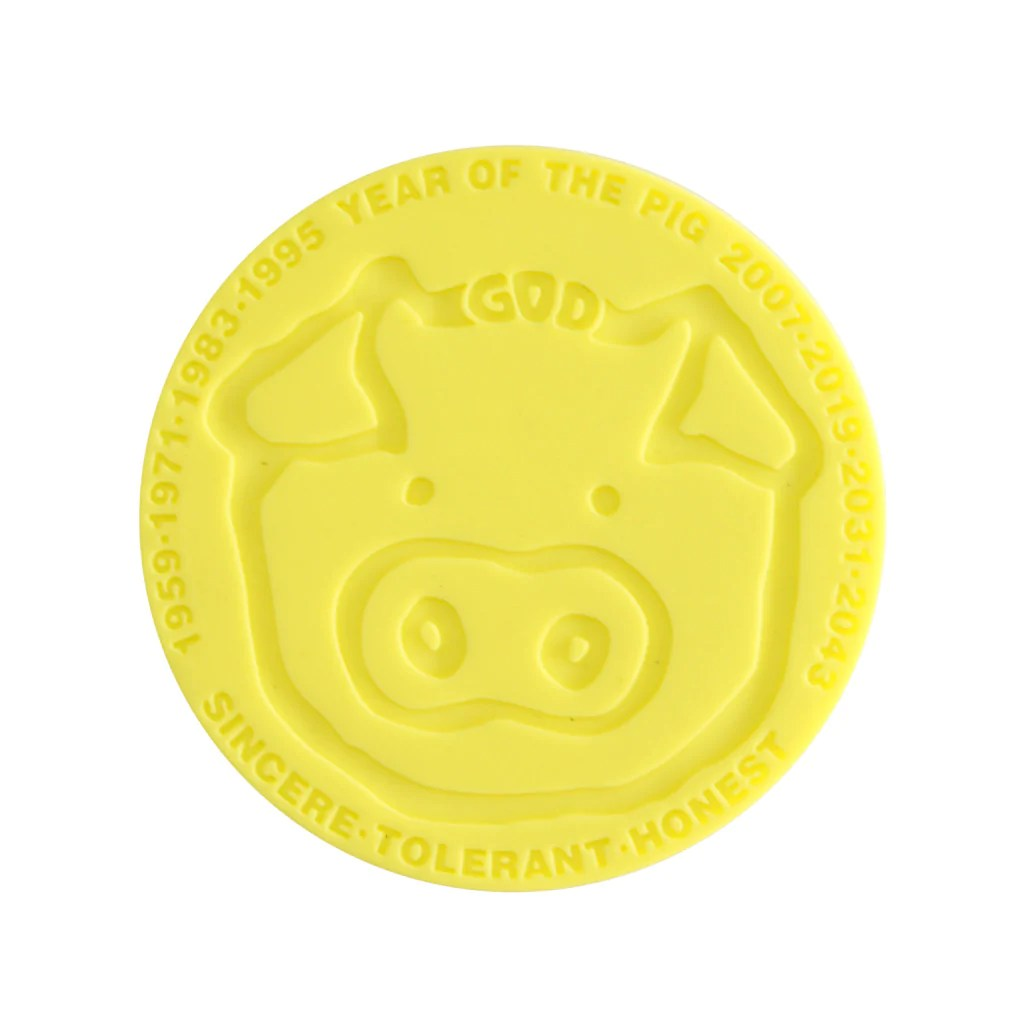 Pig Coasters Chinese Zodiac Pig 39 Coaster Goods Of Desire