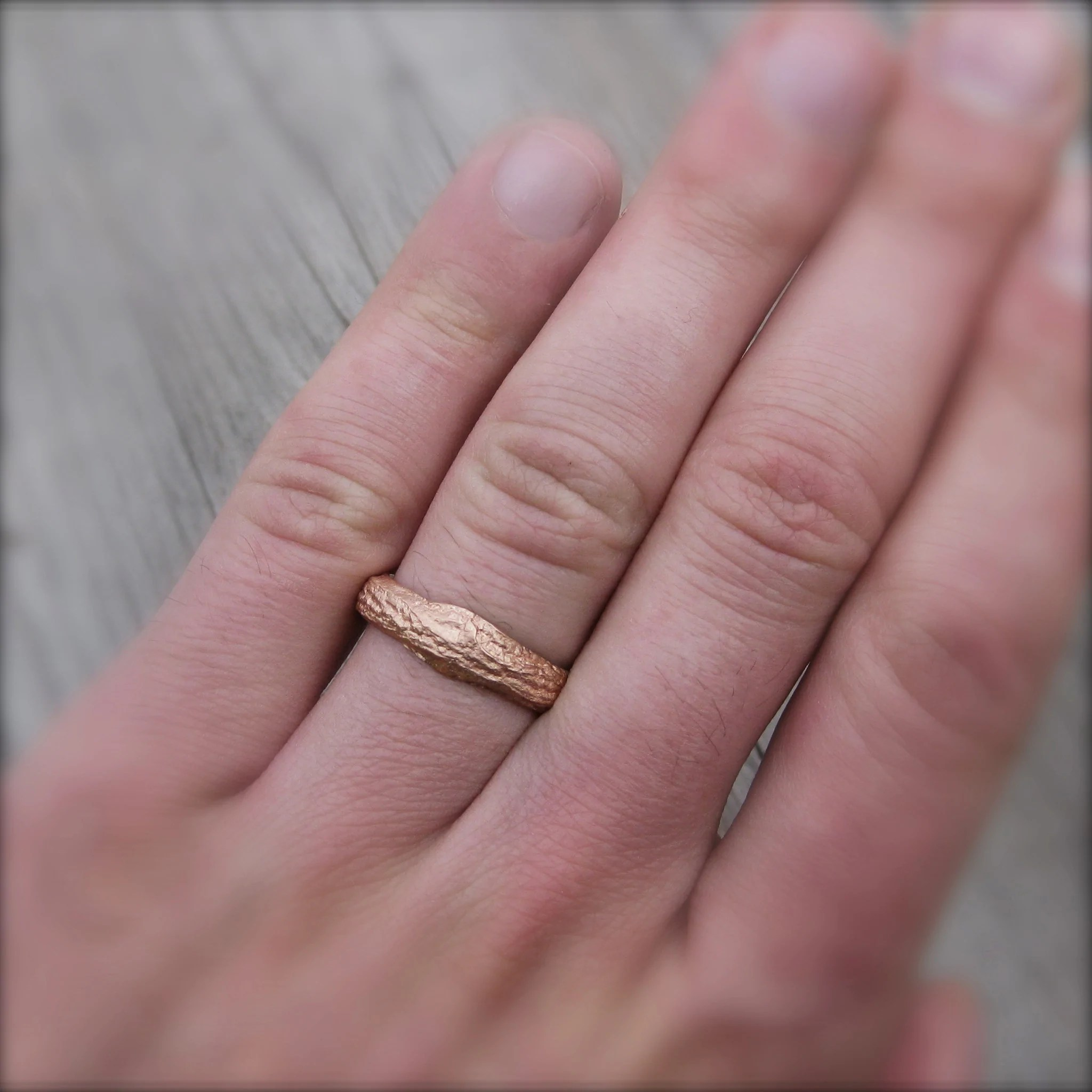 twig branch wedding bands set branch wedding ring Diamond Twig Branch Wedding Band Set Kristin Coffin Jewelry