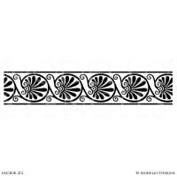 Border Stencils  Modello Designs