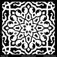 Moroccan Tile Stencil. nadia moroccan tile stencil ...
