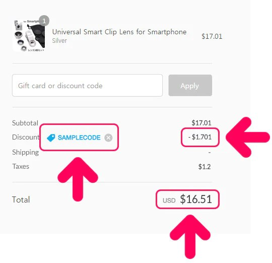 Discounts and Coupons \u2013 Hamee - coupon disclaimers